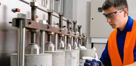 Контроль бетона на бетонном заводе урай бетон